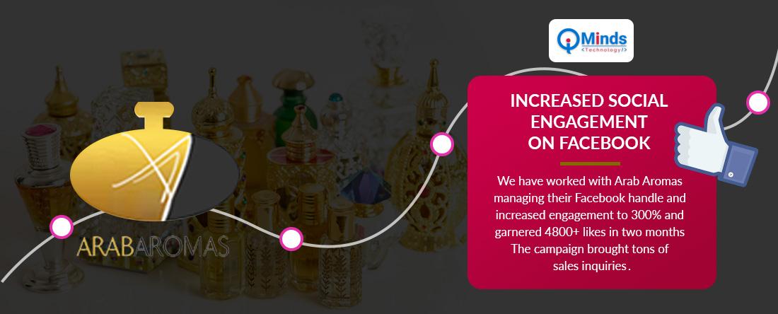 Social Media Marketing For arabaromas UAE