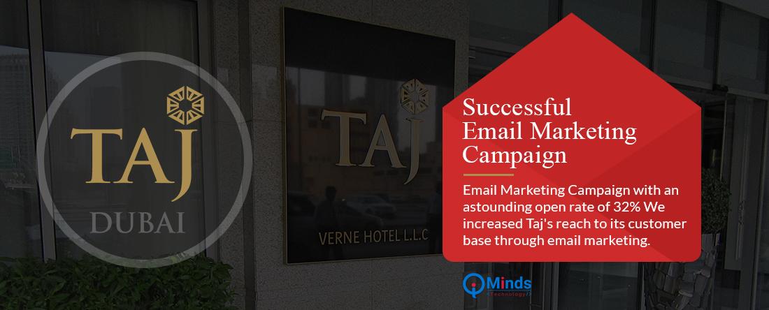 Digital Marketing Services For Taj Dubai