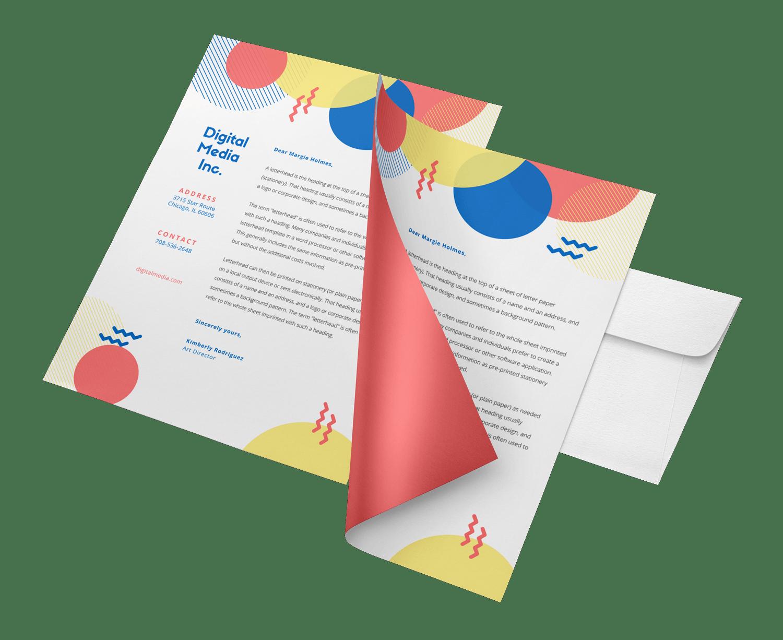 Company Letterhead design