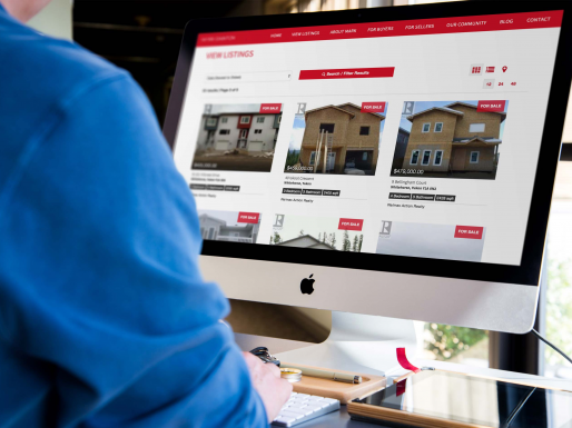 REAL ESTATE WEBSITE DESIGN