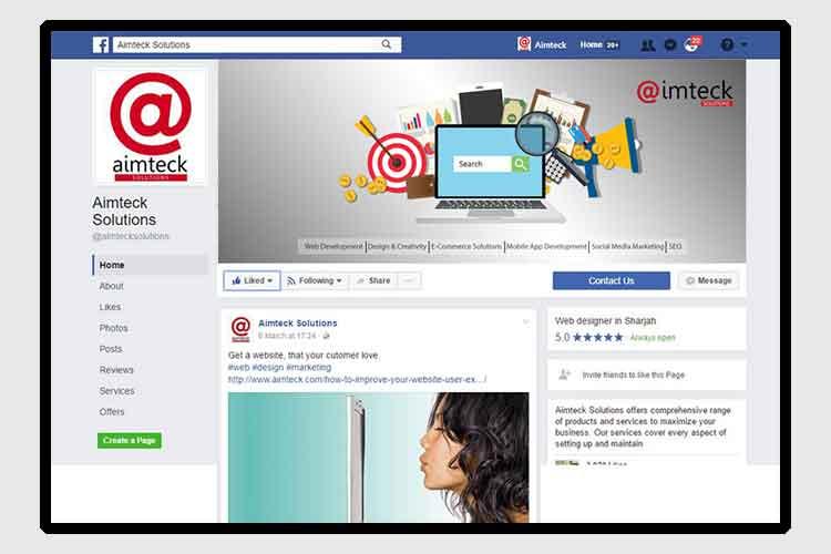 Aimteck Social Media